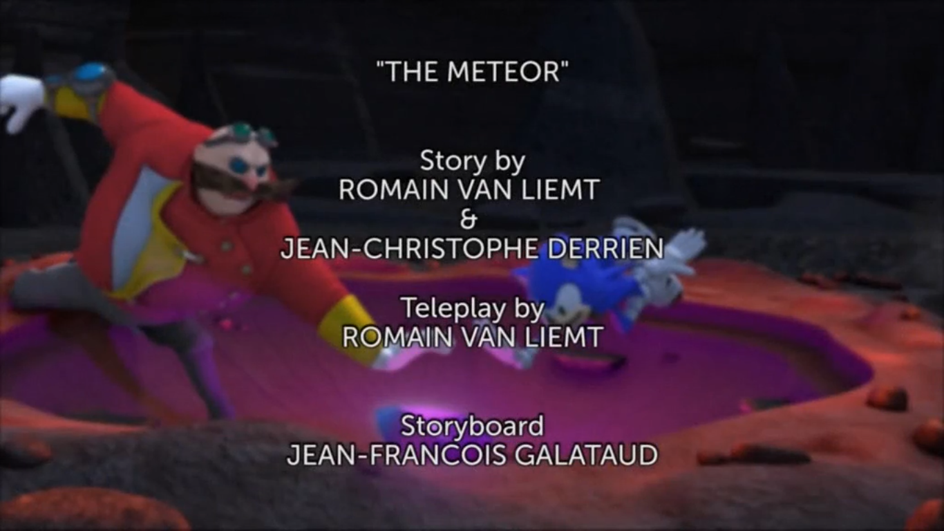 The Meteor Title Card