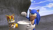S1E11 Tails Sonic marshmallows