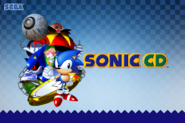 Sonic CD Wallpaper 1