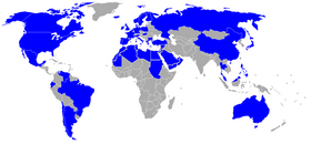 Sonic X Países