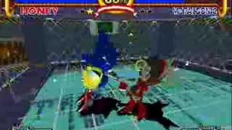 Sonic the Fighters - Honey Vs Unused Boss