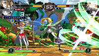 Dengeki Bunko Fighting Climax Green Hill Zone