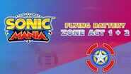 Flying Battery Zone Act 1 & 2 Sonic Mania
