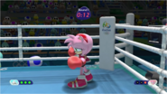 Mario & Sonic at the Rio 2016 Olympic Games - Amy Boxing