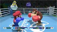 Mario & Sonic at the Rio 2016 Olympic Games - Mario VS Donkey Kong Boxing