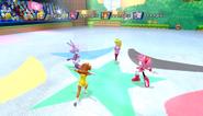 Mario Sonic Olympic Winter Games Gameplay 292