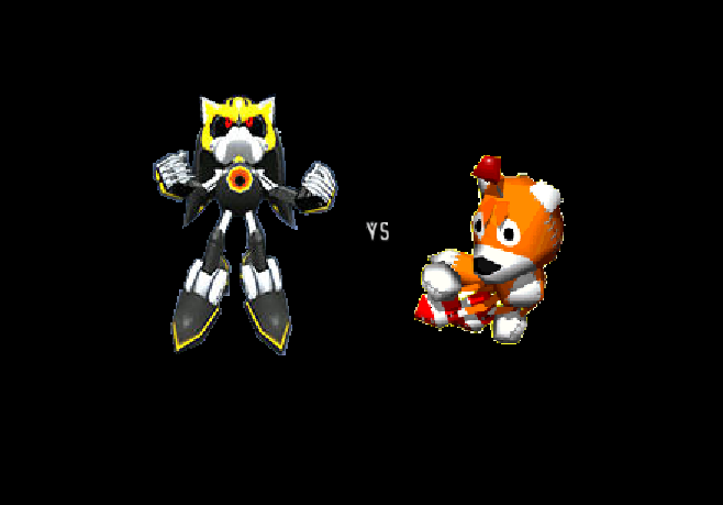 Metal Sonic 3.0 vs Tails Doll