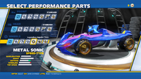Metal Sonic Legendary Impulse Tires Wheels