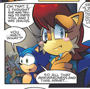 Sally and Sonic