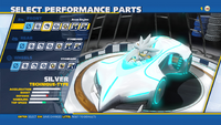 Silver Aeon Engine Front