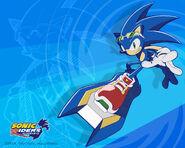 SonicRiders Wp Sonic2D