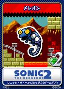 Sonic 2 8bit karta 8