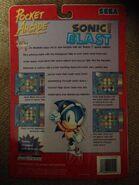 Sonic Blast LCD box back