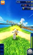 Sonic Dash Cream Dash