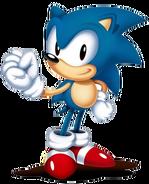 Sonic Mania Sonic art