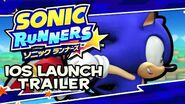 Sonic Runners - Launch Trailer