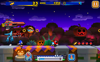 Sonic Runners Halloween