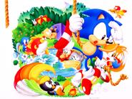 Sonic Screen Saver 26