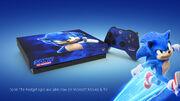 Sonic movie Xbox One X