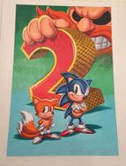 Sonic the Hedgehog 2 US box cover preliminary