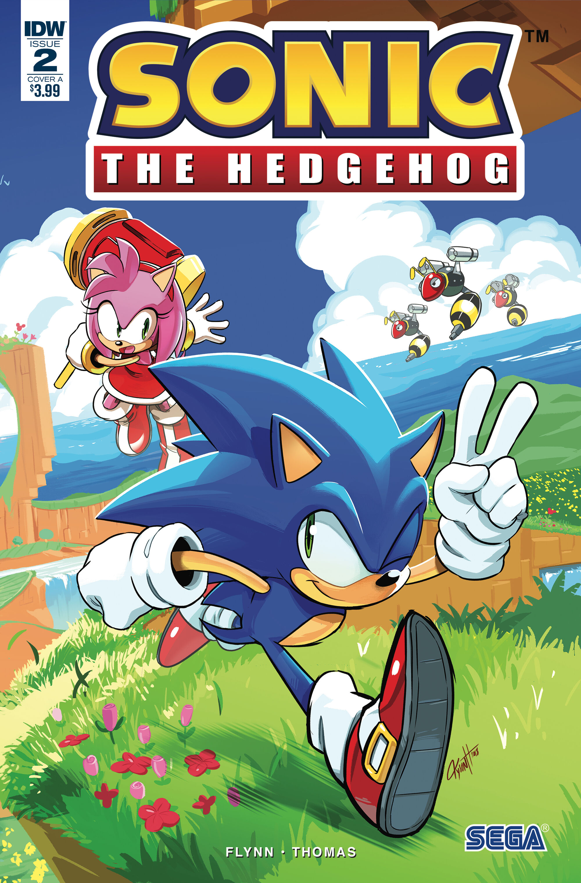 IDW Sonic the Hedgehog Issue 2 Sonic News Network