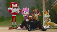 Team Sonic watch Lord Eggman