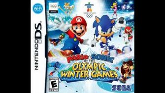 Mario and Sonic at the Olympic Winter Games DS - Frostown
