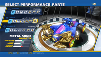 Metal Sonic Legendary Energy Engine Rear