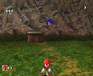 SA Knuckles vs Sonic DX 2