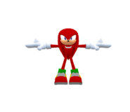 Sega Racing Model Knuckles