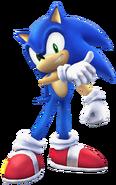 Smash Bros Sonic
