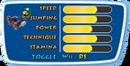 Winter Olympics DS Stats Luigi
