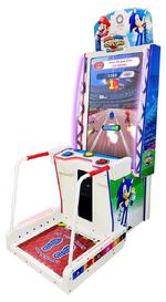 Mario & Sonic 2020 Arcade cabinet