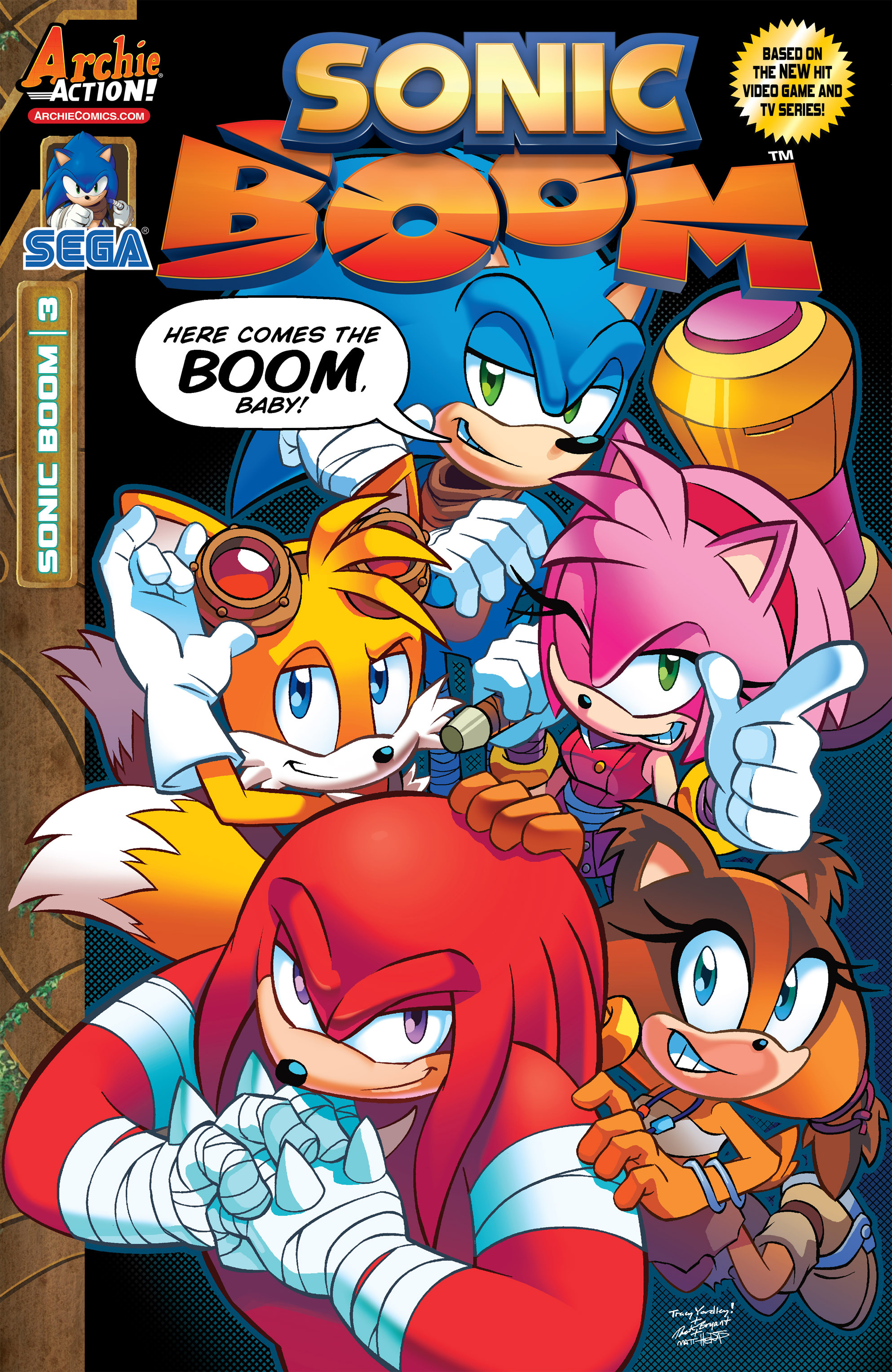 Archie Sonic Boom Issue 3 Sonic News Network Fandom