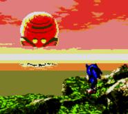 Sonic Blast ending Sonic