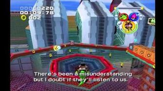 Sonic Heroes Team Chaotix vs