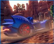 Sonic sega racing transformed cuadradito