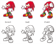 Battle Knuckles moods