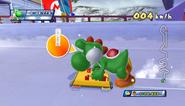 Mario Sonic Olympic Winter Games Gameplay 086