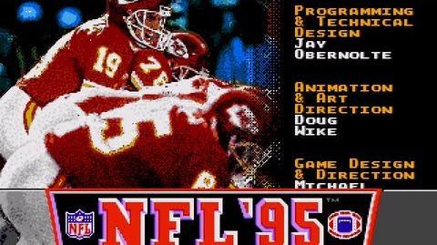 NFL 95 - Joe Montana - Sega Genesis - Megadrive - TV Game Commercial - Retro Gaming - 1994