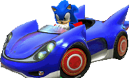 Sonic (Sonic & SEGA All-stars Racing)
