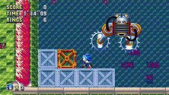 Sonic Mania Boss 9 - Shiver Saw