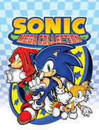 Sonic Mega Collection cover artwork