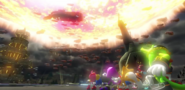 Sonic forces Sun come down