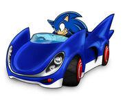 Jazwares SSASR Sonic Concept