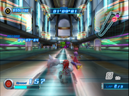 Knux attacking