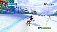 Mario Sonic Olympic Winter Games Gameplay 128