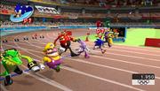 Mario Sonic Olympics Gameplay 02