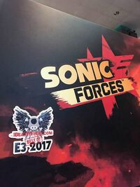 Sonic Force i beat it first e3 2017