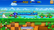 Sonic Runners screen 8